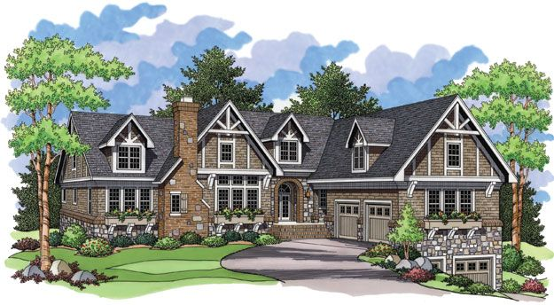 House Plans Home Plans And Floor Plans From Ultimate Plans Country Style House Plans Tudor House House Plans And More