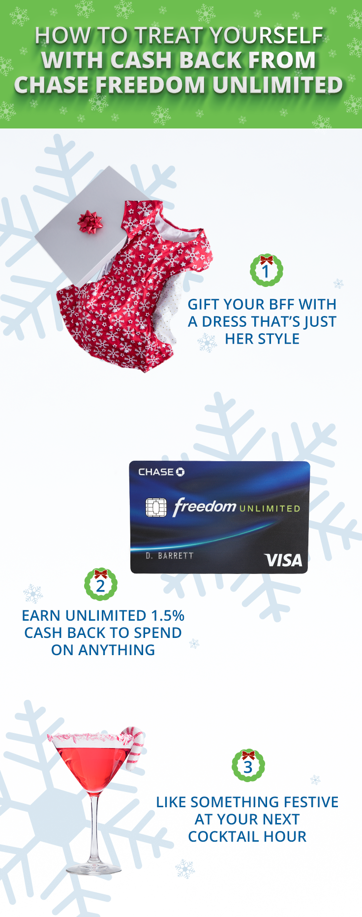 Gifting your chic BFF this holiday season? Use your Chase