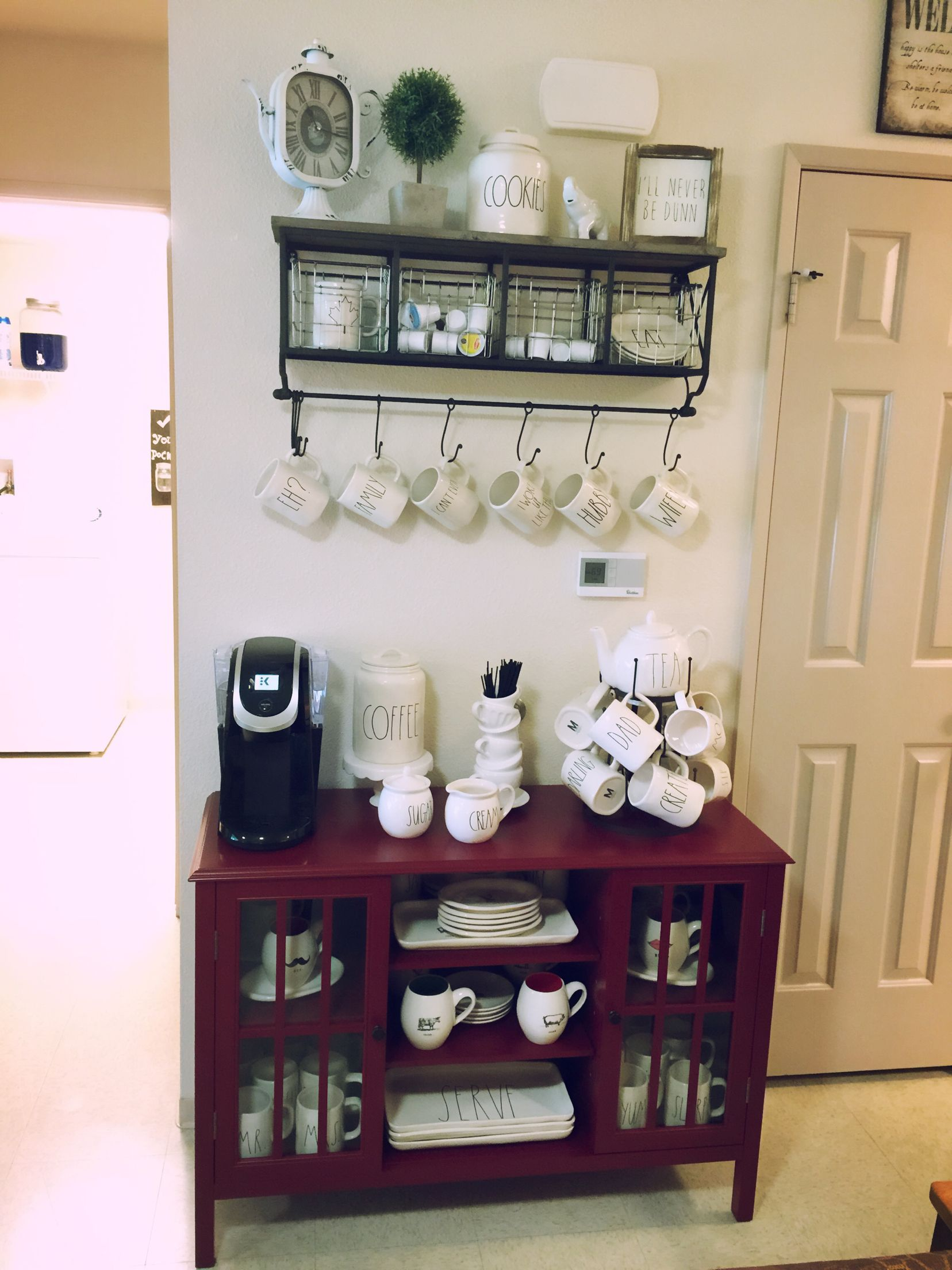 White Kitchen Hutch Target rae dunn, hobby lobby, target coffee bar, kitchen. | rae dunn