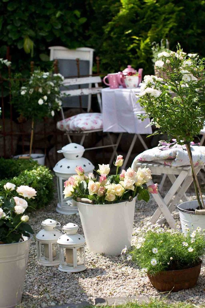Sitzplatze Im Garten Garten Wohnen Und Garten Villa Vanilla