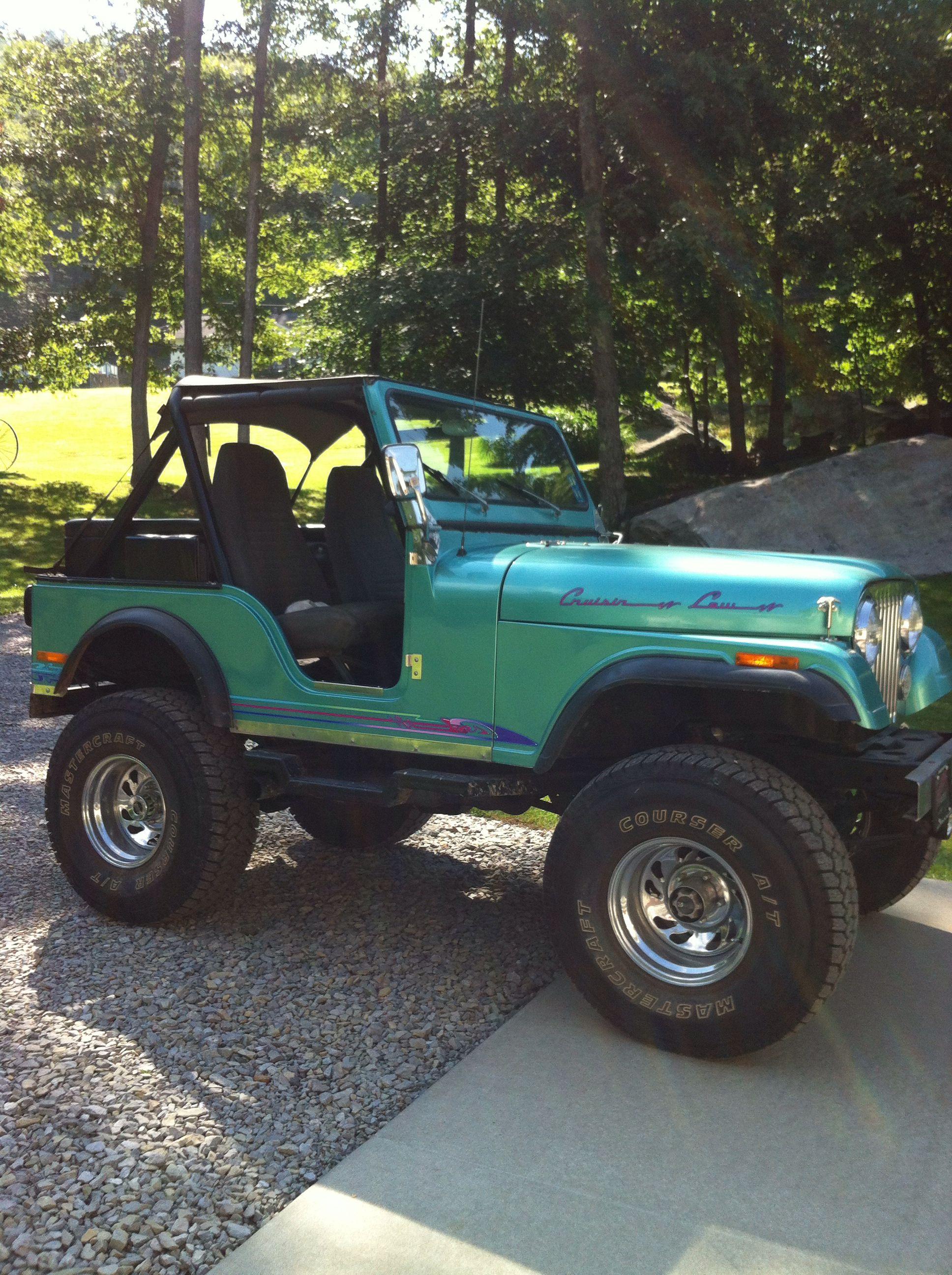 1980 CJ5 Jeep - looks like Bill\'s old CJ | jeep w | Pinterest | Cj5 ...
