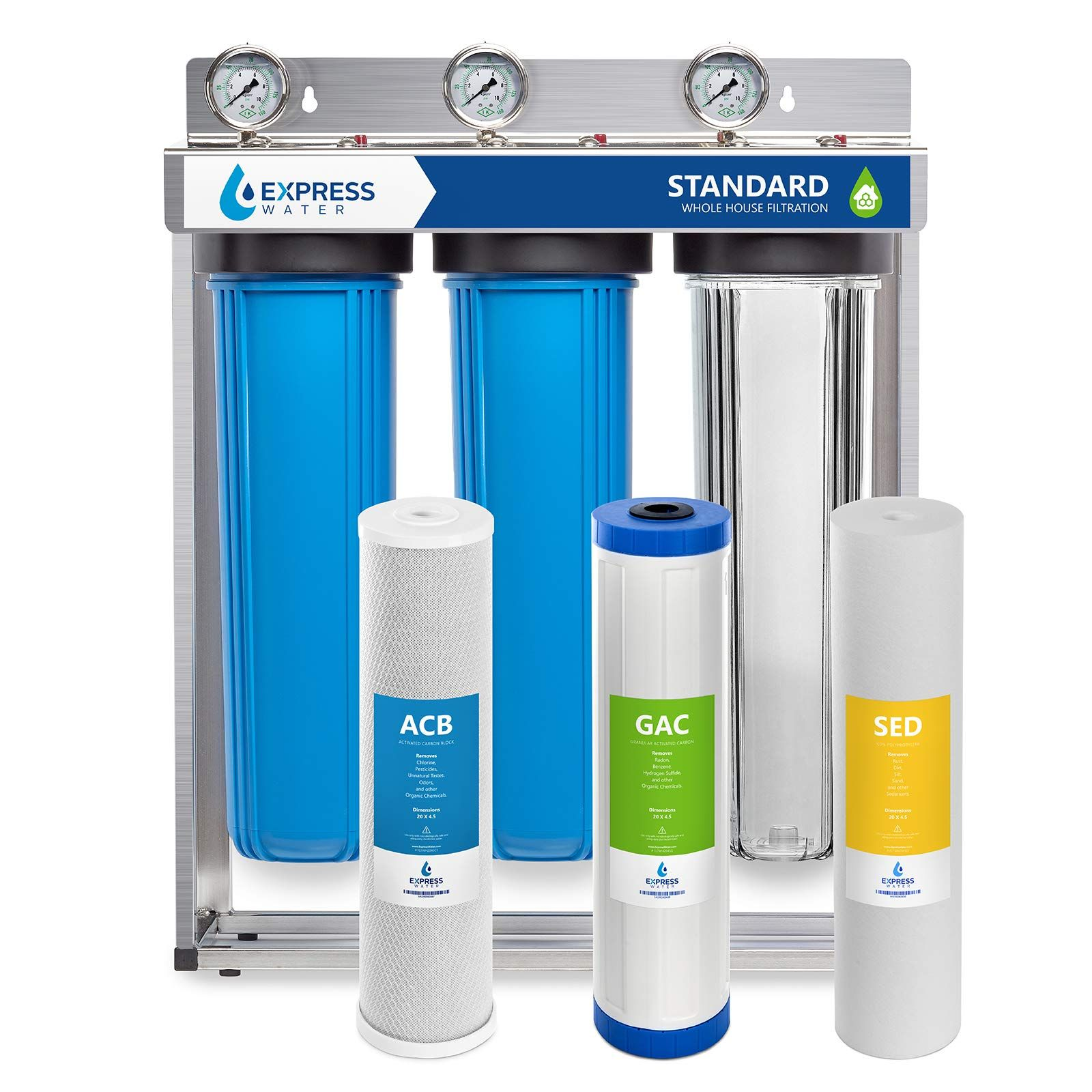 Express Water Whole House Water Home Water Filtration Whole House Water Filter House Water Filter