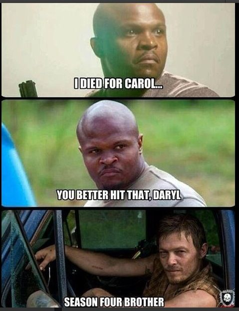 doen daryl en carol hook up op walking dead