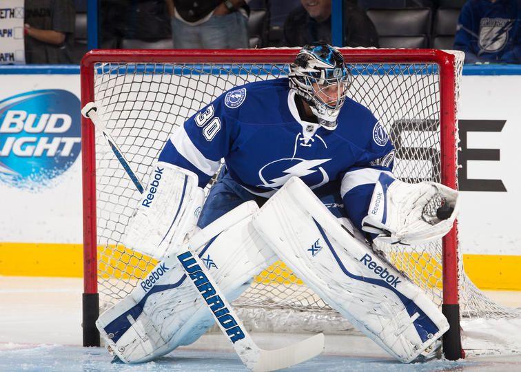 Ben Bishop 30 Tampa Bay Lightning Hockey Is Life Usa Hockey