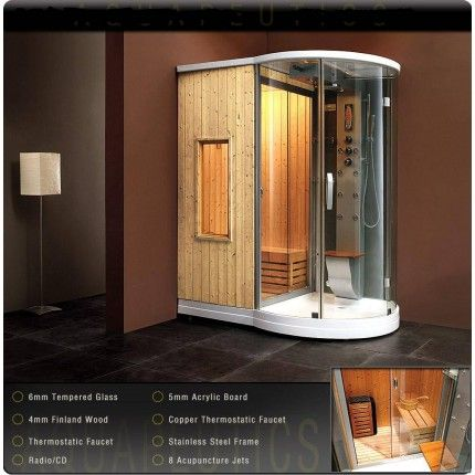 Bostonian Steam Sauna | remodel | Pinterest | Steam sauna, Saunas ...