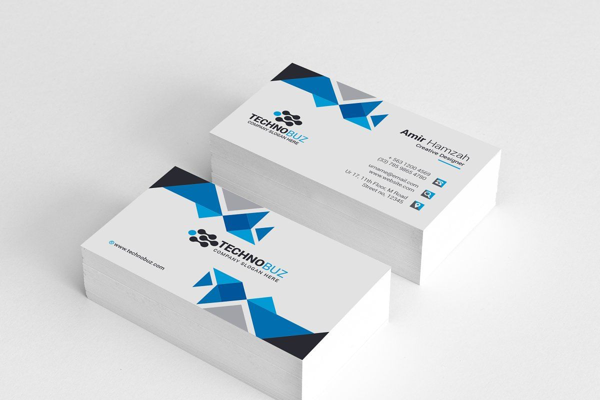 Business Cards Corporate Business Card Business Card Template Unique Business Cards Design