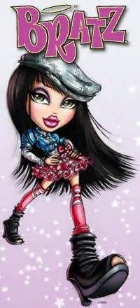 Bratz Jade Cartoon | Bratz | Bratz doll, Monster high ...