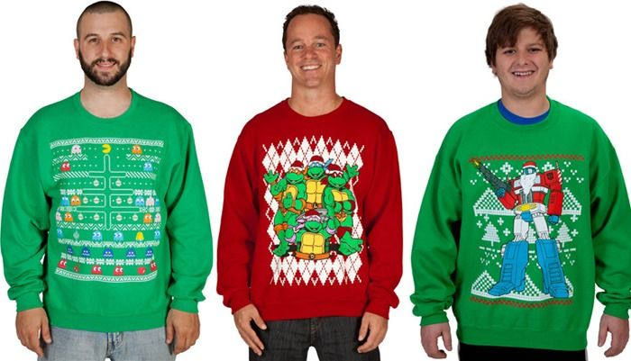 Ugly Christmas Sweaters Geek Style Pertaining To Geeky Ugly
