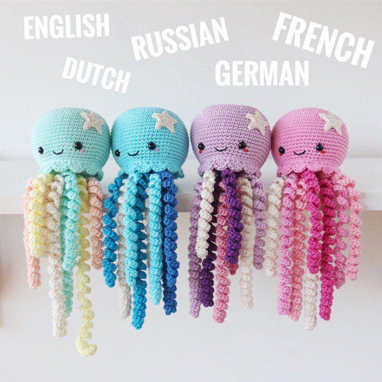 Crochet Octopus Pattern Amigurumi Octopus  Amigurumi Pattern Crochet Pattern #Crochet #Octopus #Pattern #Amigurumi # #crochetoctopus