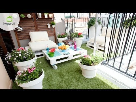 Small low cost tutorial para conseguir una terraza low for Ideas de decoracion de patios