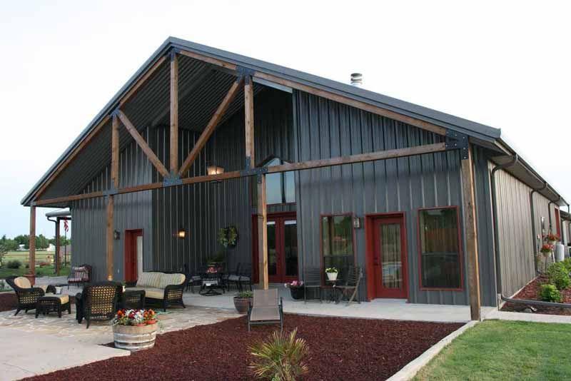 Marvelous Metal Building With Living Quarters / Metal Building With Living Quarters  Plan And Pictures / Pole
