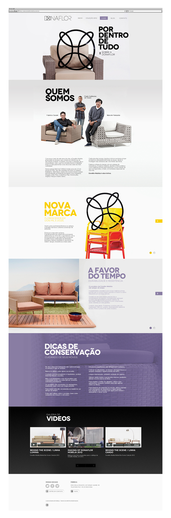 Twenty Twelve | Donaflor by Pianofuzz , via Behance