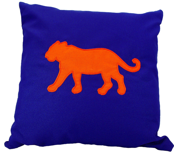 Tiger Purple Deco Pillow | Silhouette machine, Fabric covered and Tigers