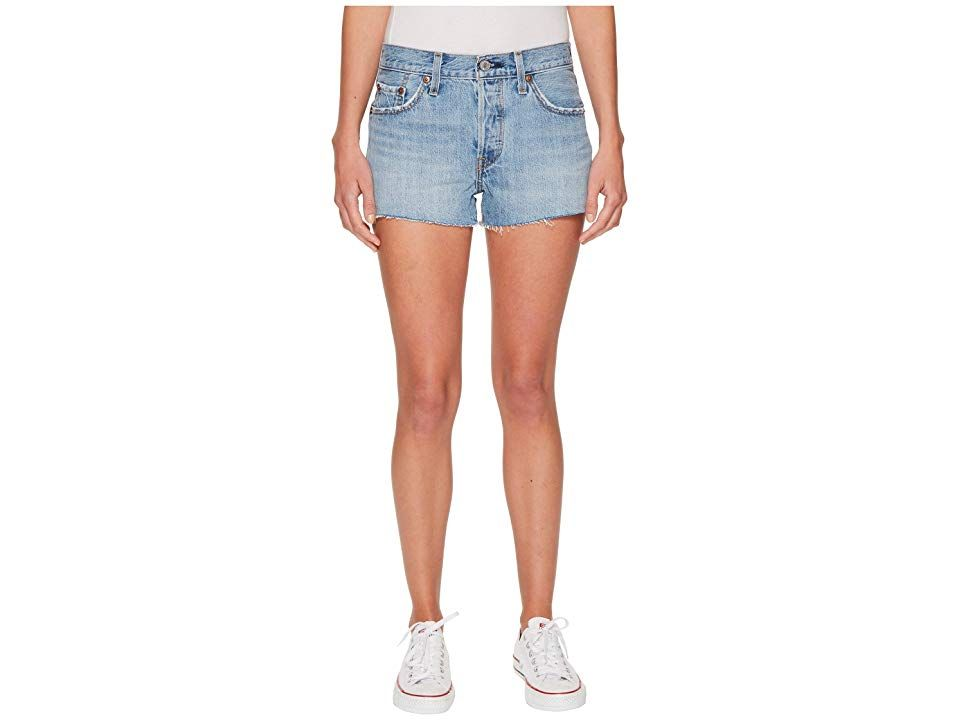 Levisr Womens 501r Shorts Worth The Wait Womens Shorts A triedandtrue classic Levis 501 Short is the one that started it all Original fit runs straight and true to the ra...