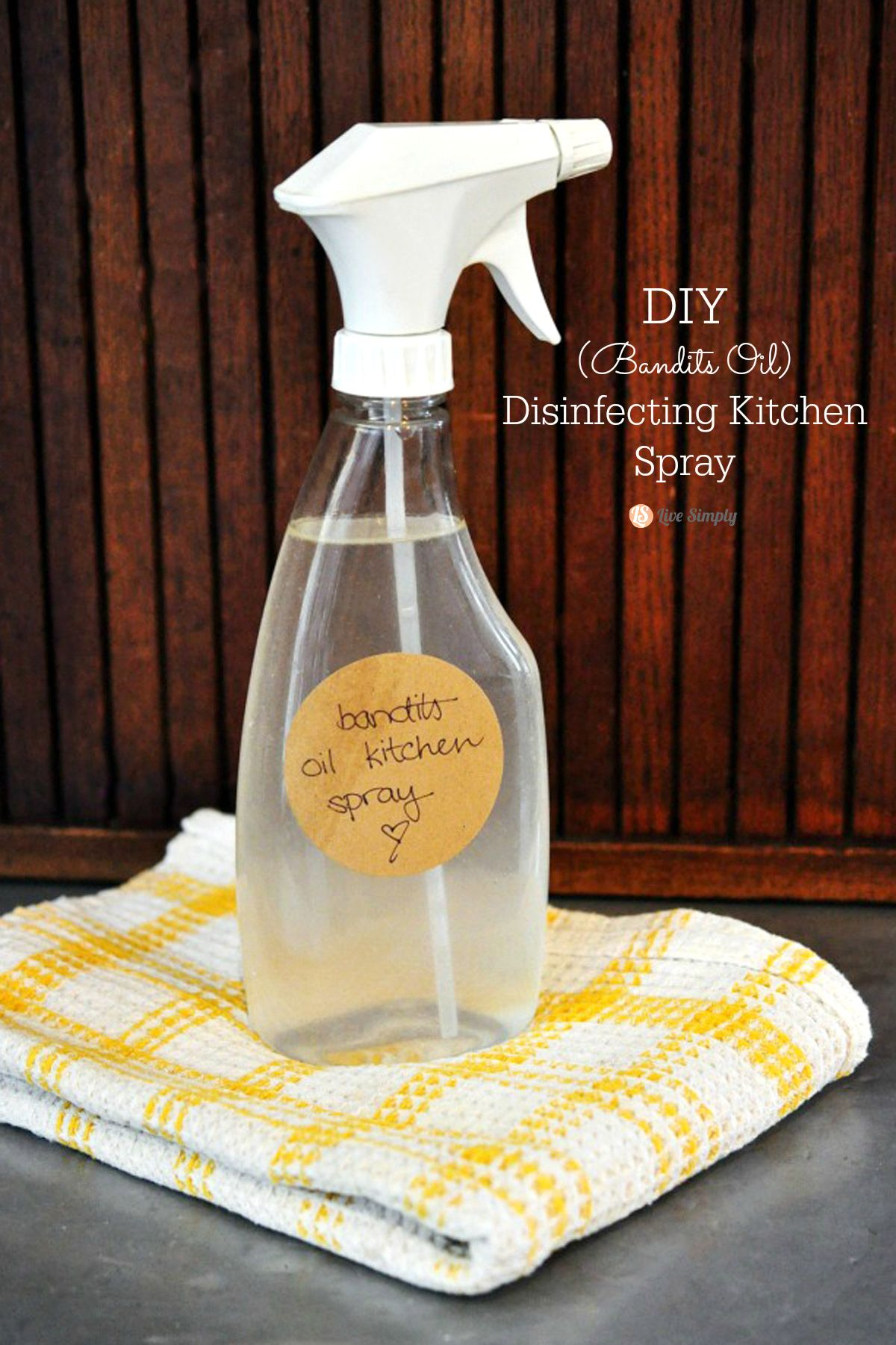 A DIY Disinfecting Spray That Will Leave Your Kitchen And Anywhere Else  That Needs A Good