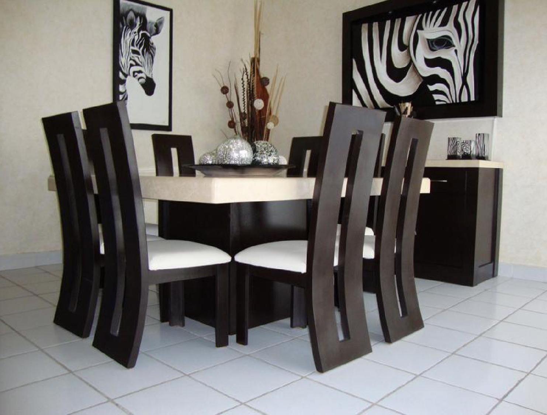 Comedores en madera comedores madera y comedores de for Comedores cuadrados modernos