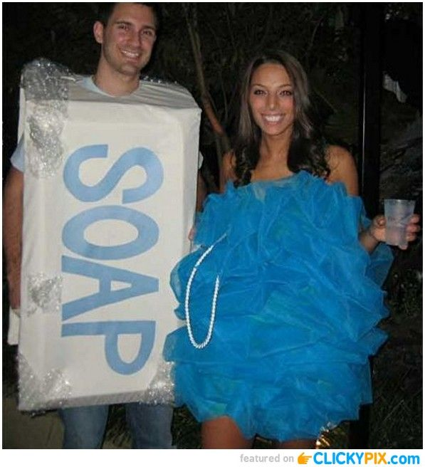 Funny and Creative Halloween Costumes (22 images) DIY  Crafty - creative couple halloween costume ideas