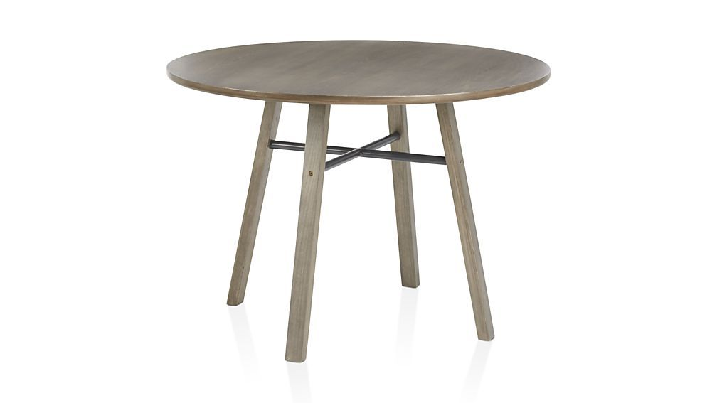 Scholar Dining Table Crate And Barrel Round Dining Table