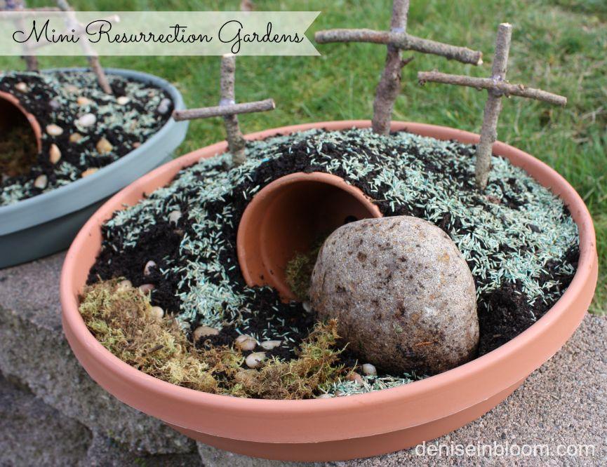 Easter Garden Craft Ideas Part - 39: Make A Mini Resurrection Garden For Easter