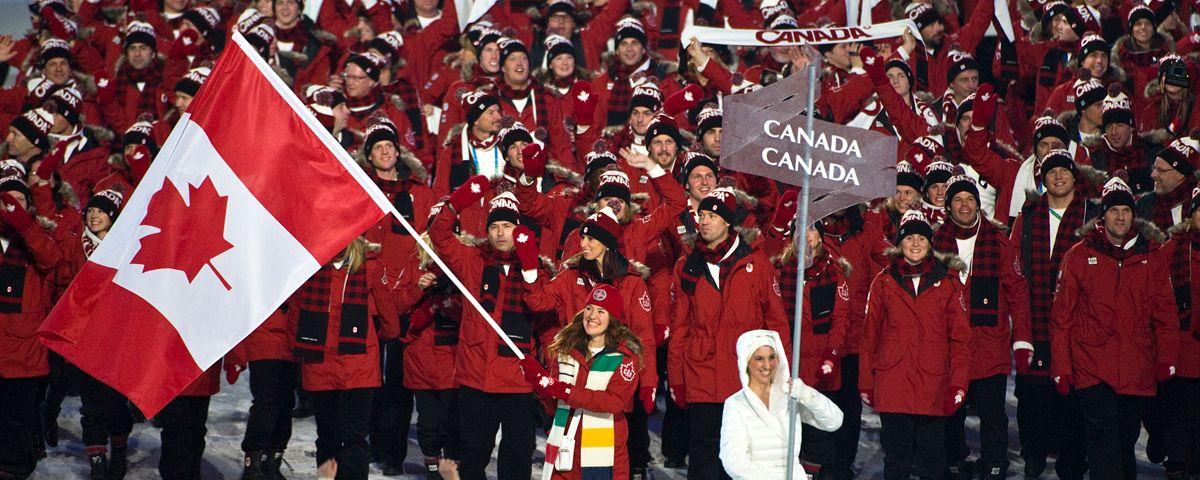 Clara Hughes So Proud Of Her As A Flag Bearer Clara Hughes Olympians Country Flags