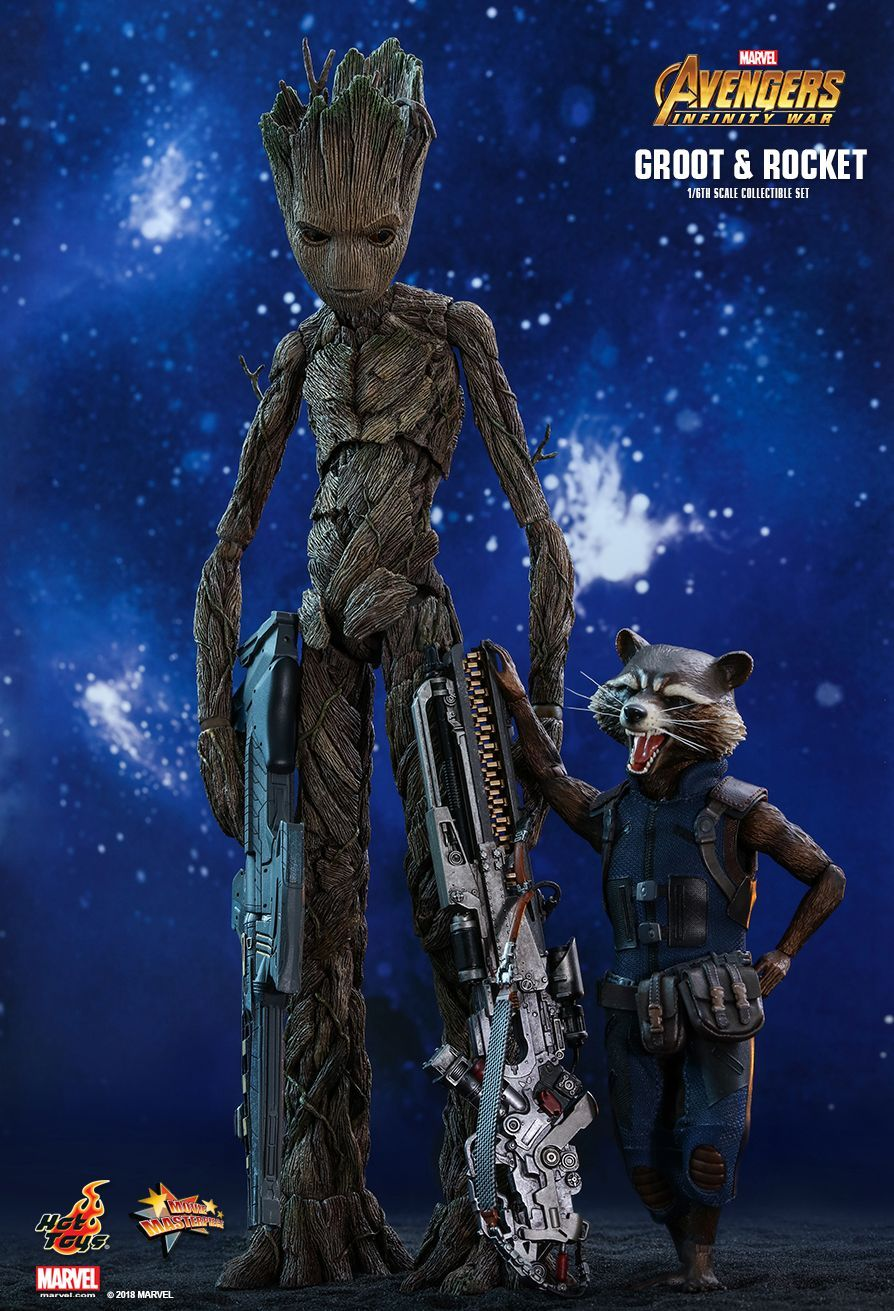 HOT TOYS 1//6 GROOT HT903424 Avengers Infininty War Action FIGURE NEW IN STOCK