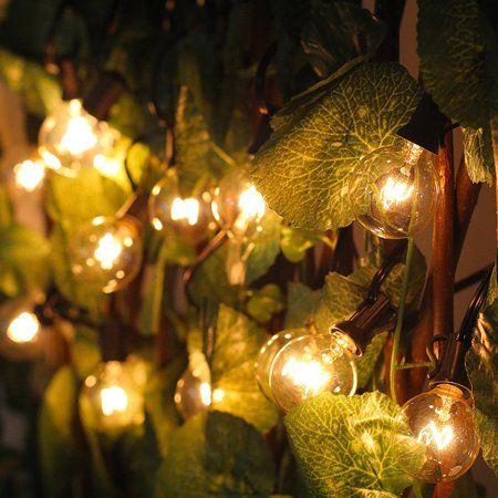 E12 Base G30 LED Ball Bulb String Lights For Wedding Party UL