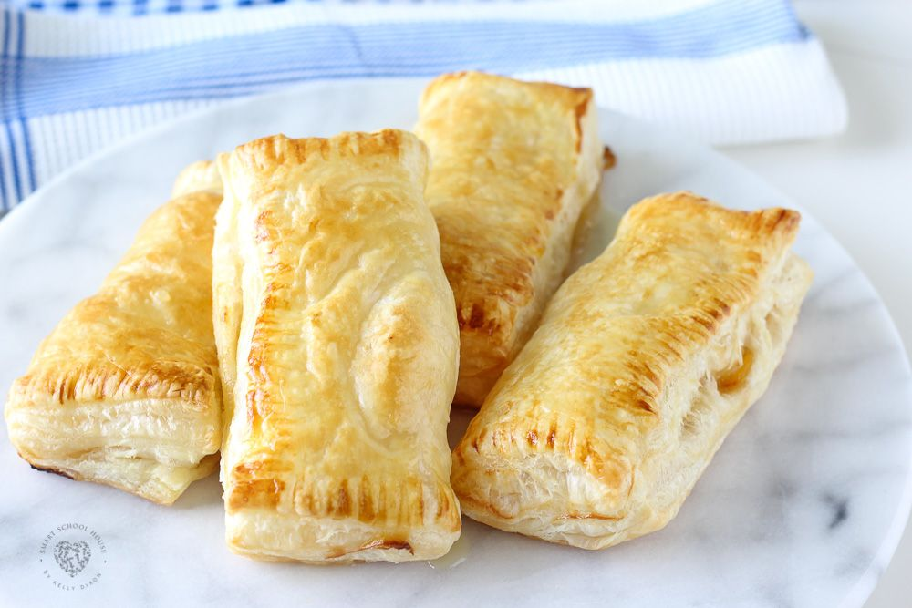 Peach Puff Pastry #frozenpuffpastry