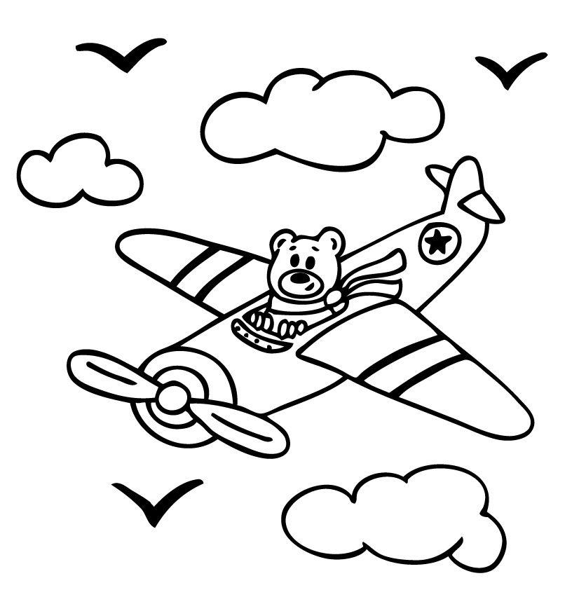 VINILO osito piloto www.tomavinilo.com