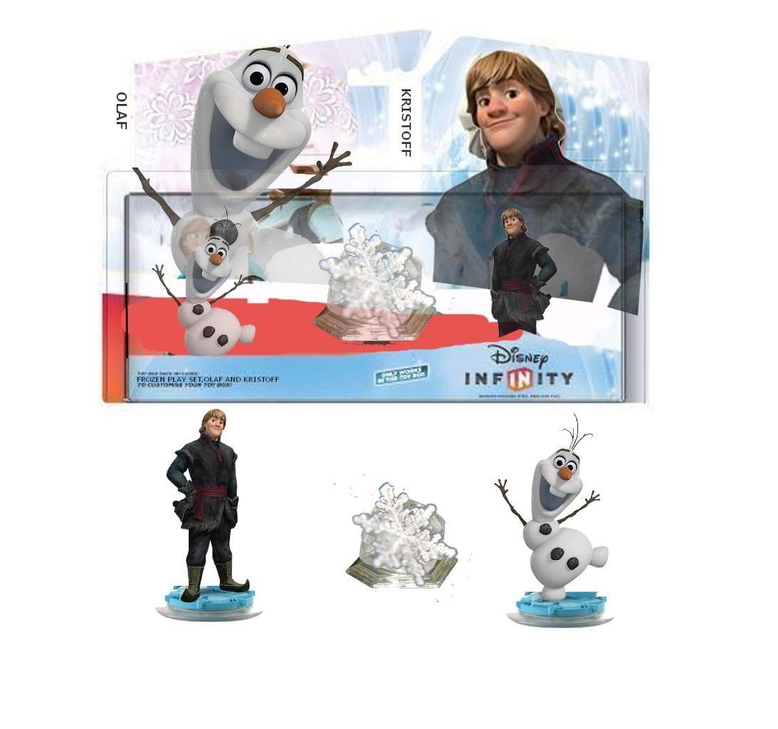 Rumorednewcharacter Disney Infinity Frozen Play Set With Olaf Kristoff