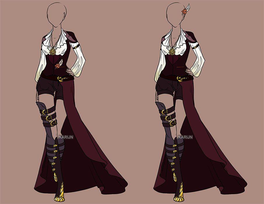 Custom Fashion 60 by Karijn-s-Basement.deviantart.com on @DeviantArt | Anime Designs | Pinterest ...
