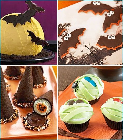 Poppies at Play Halloween party treat ideas! cake Pinterest
