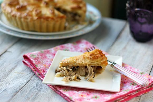 Sugar & Everything Nice: Chicken and Mushroom Pie inspired by Maggie Beer