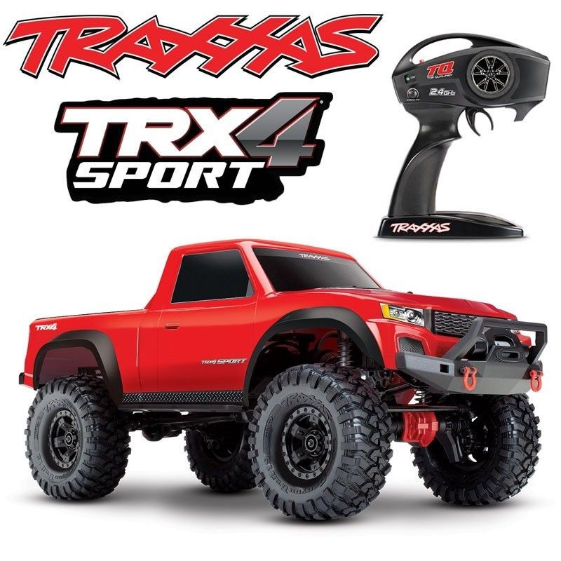 Details about NEW Traxxas TRX4 Sport 4x4 Scale Rock