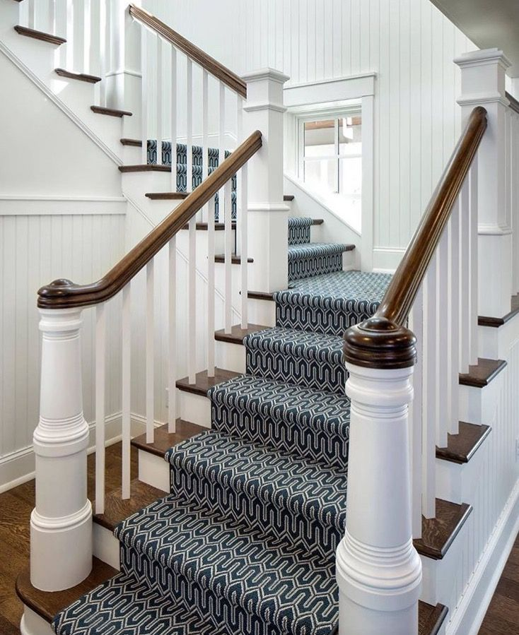 Beautiful Stair Runner Fabricated From Stanton S Baltimore