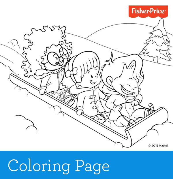 A new year means new coloring pages and crafts at Fisher-Price.com ...