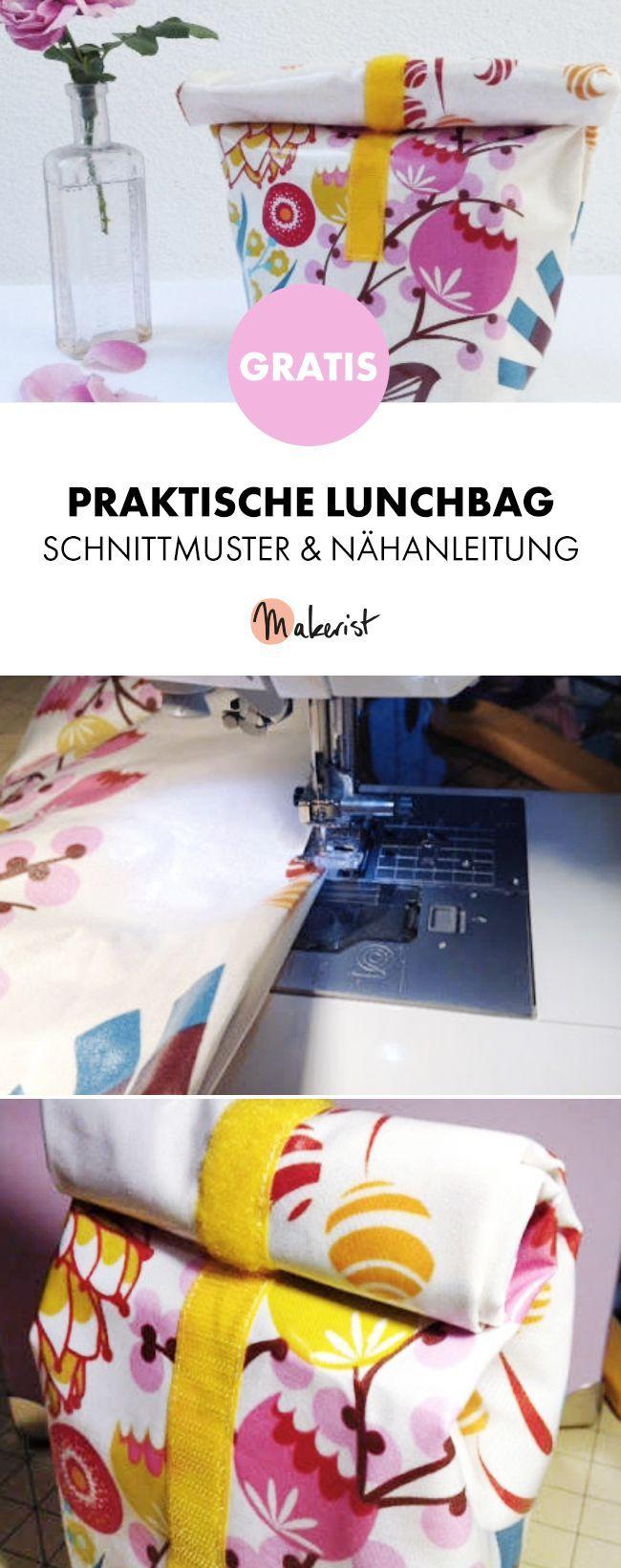 Photo of Kostenlose Anleitung: Nähen Sie Ihre eigene Lunch-Tasche – Schnittmuster und Nähanweisungen …