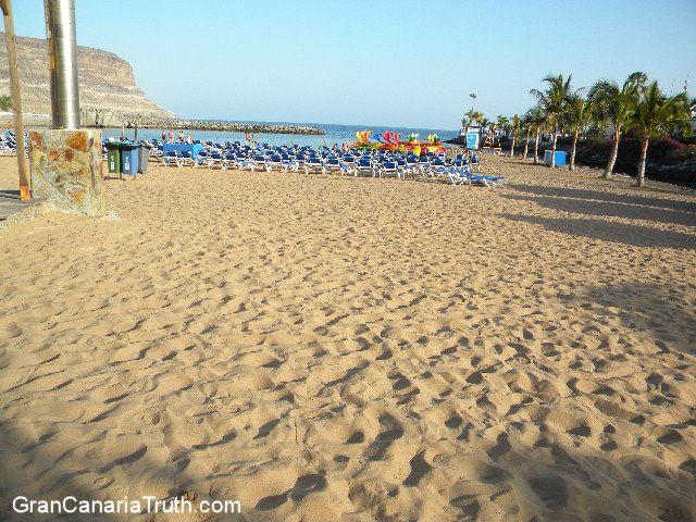 Puerto Mogan - Classic Gran Canaria sandy beach.