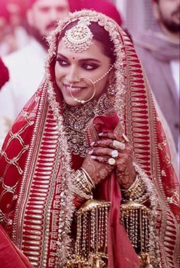 Pin By Ziba Beauty On Deepika Indian Bride Outfits Indian Bridal Bridal Looks
