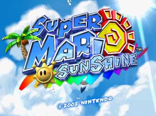 I Love This Game Super Mario Sunshine Super Mario Nintendo