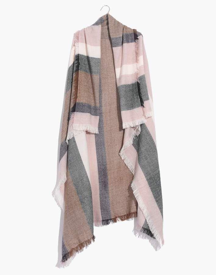 Madewell Band Stripe Blanket Scarf