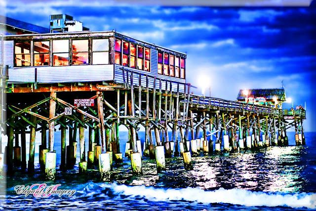 #CocoaBeachPier #HDRPhotography