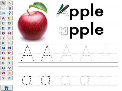 Number Names Worksheets trace abc letters : 1000+ images about handwriting/letter formation on Pinterest | The ...