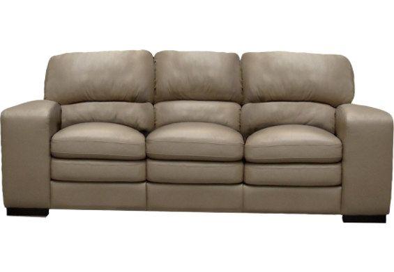 Milena 100 Genuine Leather Sofa Champagne Genuine Leather Sofa Sofa Furniture