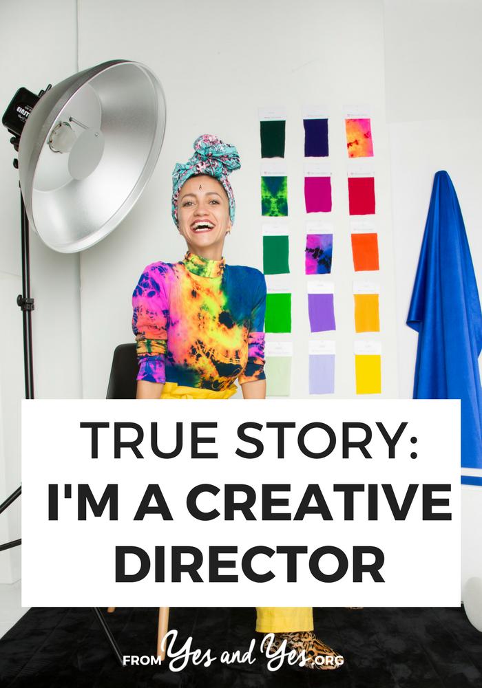 True Story I M A Creative Director Creative Director Career Creative Director Portfolio Creative Careers