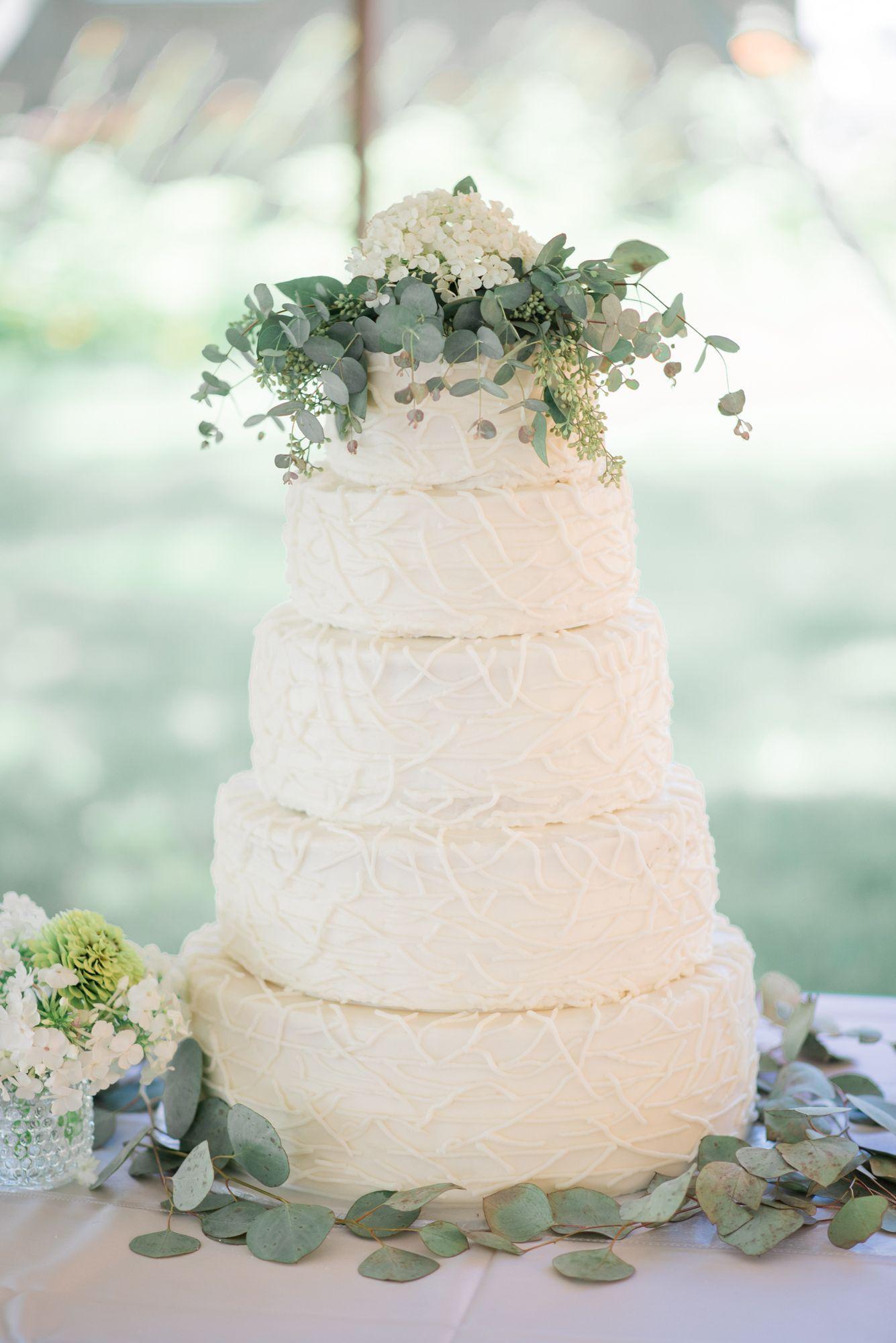 Wenthold Wedding | Wedding cake simple, Classic wedding cakes and ...