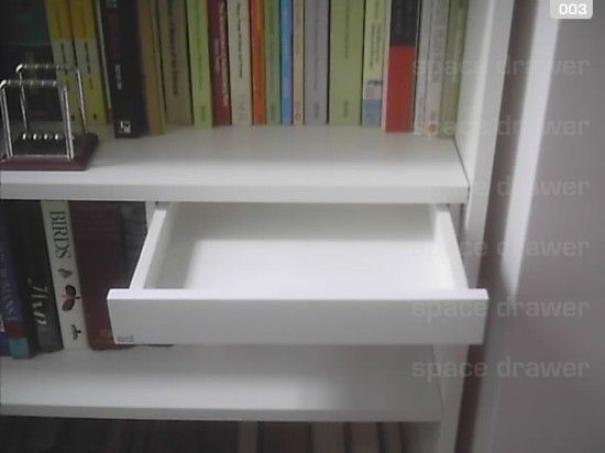 How About A Drawer For Billy And Lack Ikea Hackers Ikea Hack Bookcase Ikea Bookcase Bookcase Diy