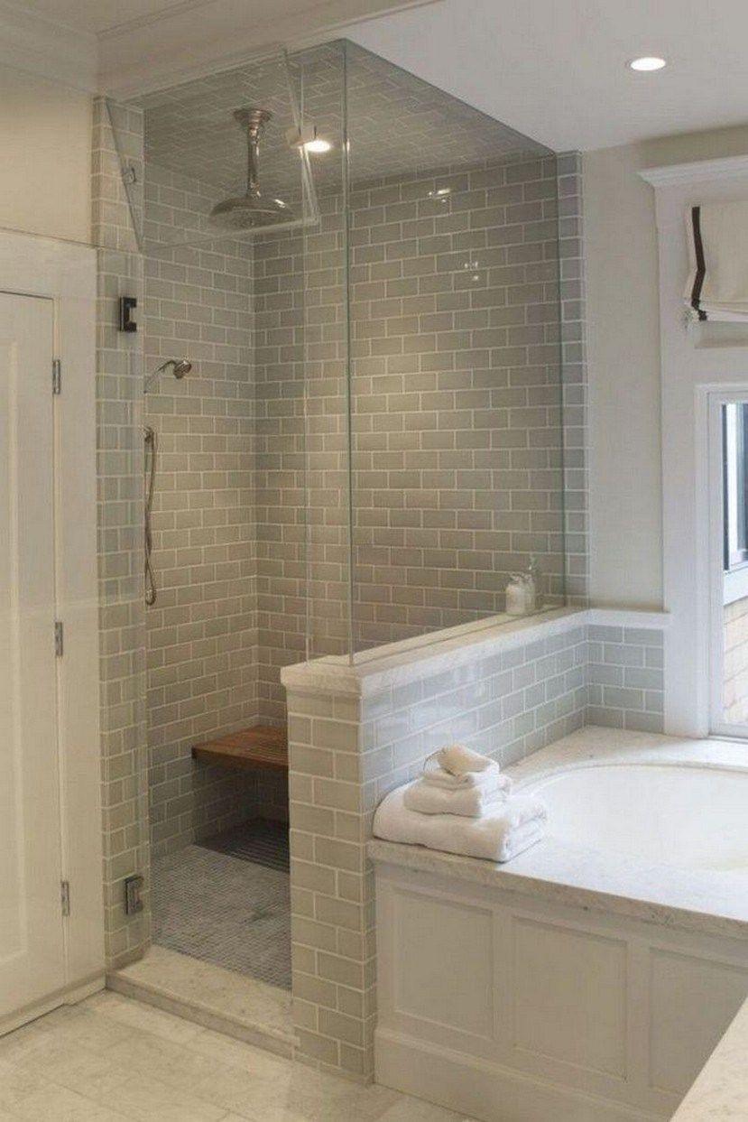 48 Inspiring Master Bathroom Remodel Ideas 28 Fieltro Net Bathroom Redesign Bathroom Remodel Shower Small Master Bathroom