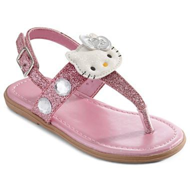 a84eb6049d2f5 Hello Kitty® Lil Jewell Toddler Girls Sandals - jcpenney