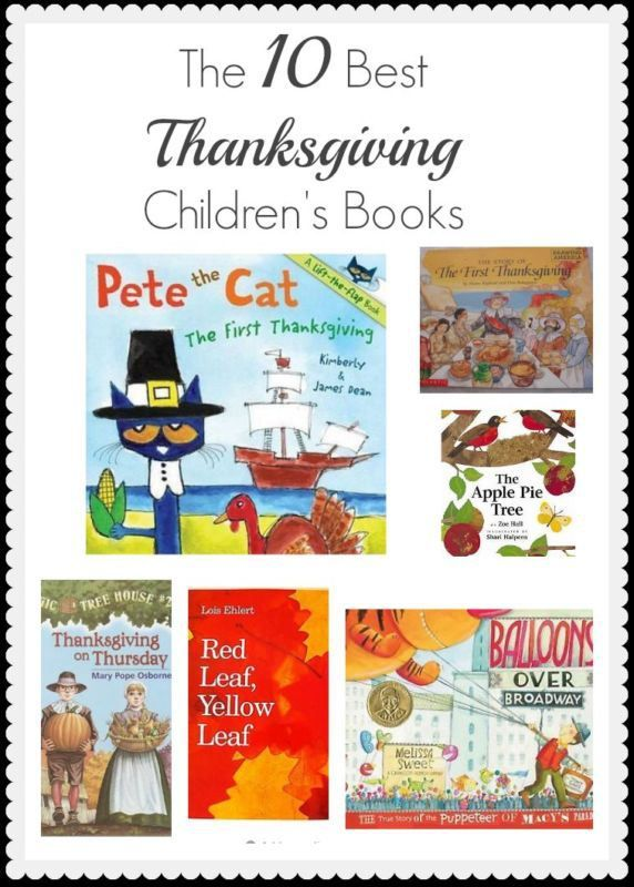 The 10 Best Thanksgiving Children's Books