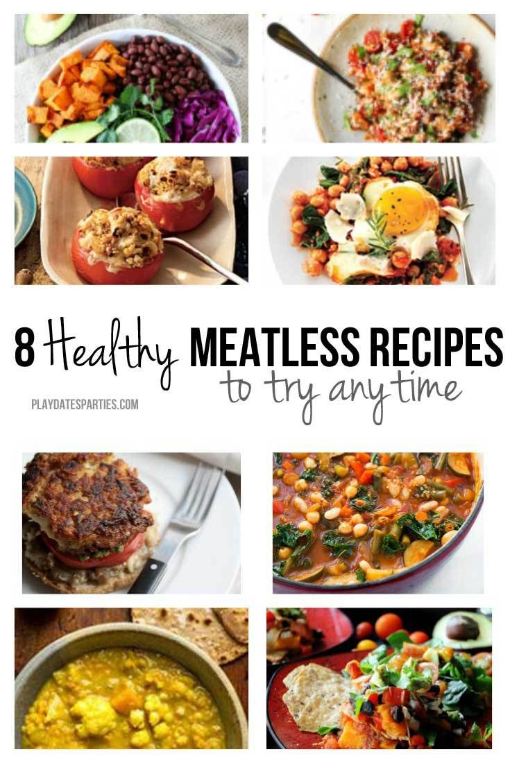 8 Healthy Meatless Meals to Try Anytime   Meals, Menu and Dinner ideas